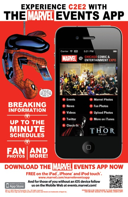 Marvel Events App