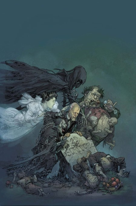 MARVEL ZOMBIES CHRISTMAS CAROL #1 Cover