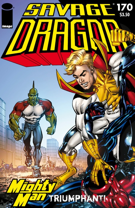Savage Dragon #170 cover