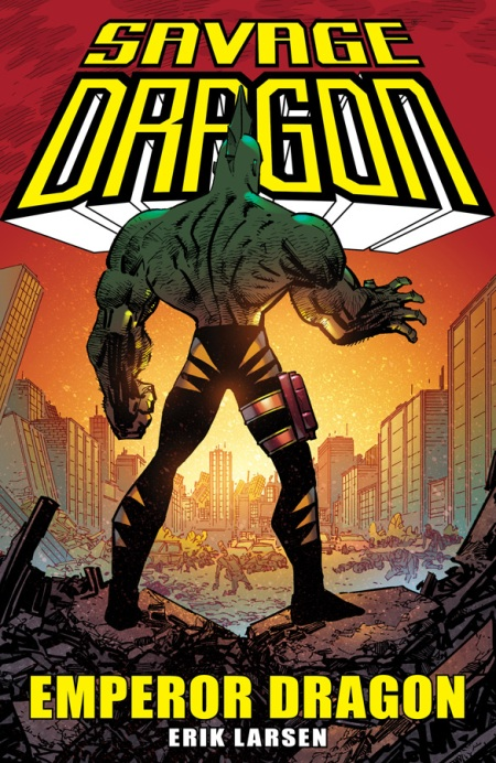Savage Dragon: Emperor Dragon TP cover