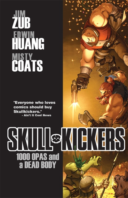 Skullkickers Vol. 1 - 1000 Opas and a Dead Body TP cover