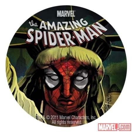 Spider-Island Button
