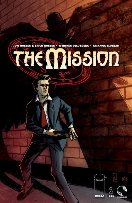 The Mission #2 cover