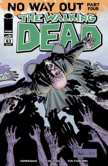 The Walking Dead #83 cover