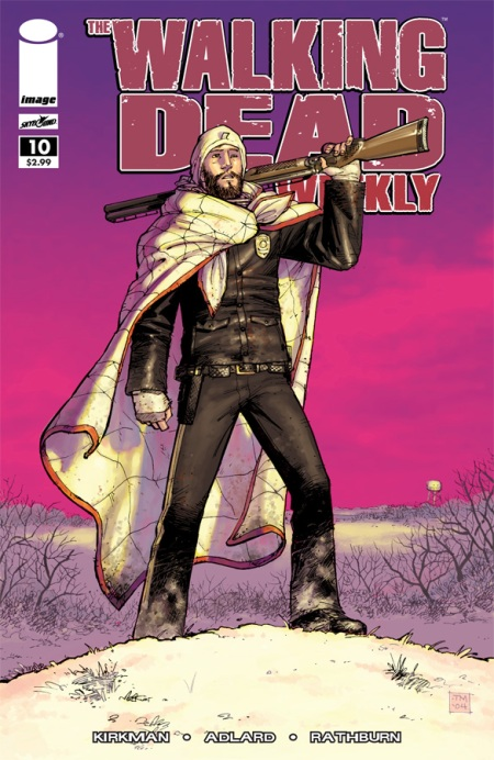 The Walking Dead Weekly #10 cover