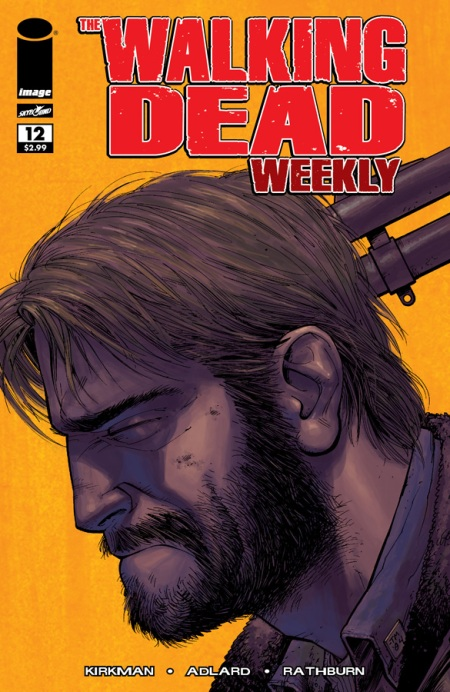 The Walking Dead Weekly #12 cover