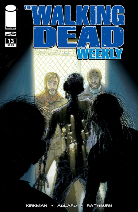 The Walking Dead Weekly #13 cover