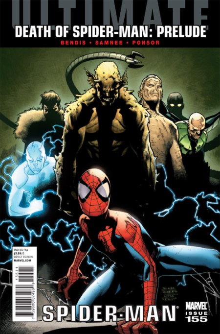 ULTIMATE COMICS SPIDER-MAN #155 COVER