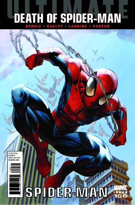 Ultimate Comics Spider-Man #156 Cover