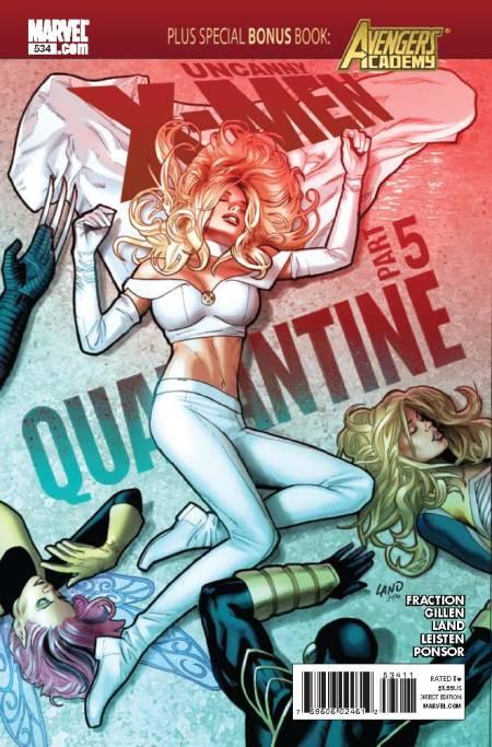 Uncanny X-Men #534 Cover