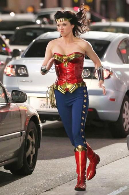 Wonder Woman Costume Change