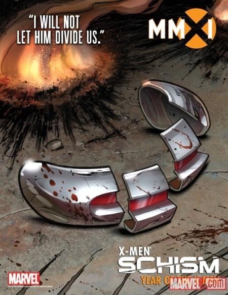 X-Men Schism Poster