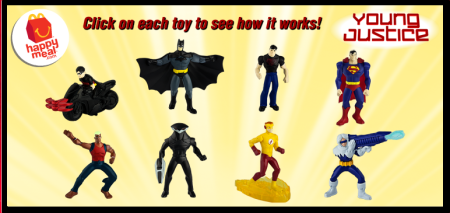 Young Justice Happy Meal