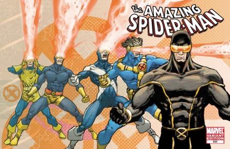 Amazing Spider-Man #661 X-MEN EVOLUTIONS Cover