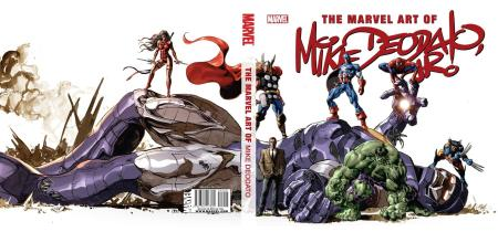 The Art Of Mike Deodato Cover