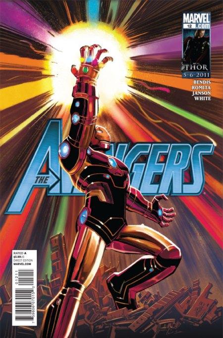 Avengers #12 Cover