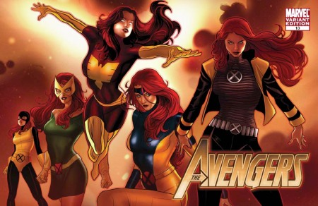 Avengers #13 X-MEN EVOLUTIONS Cover