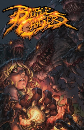 Battle Chasers Anthology cover