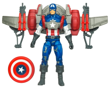 Captain America Air Assult Glider with launching shield