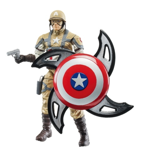 Captain America Desert Ambush