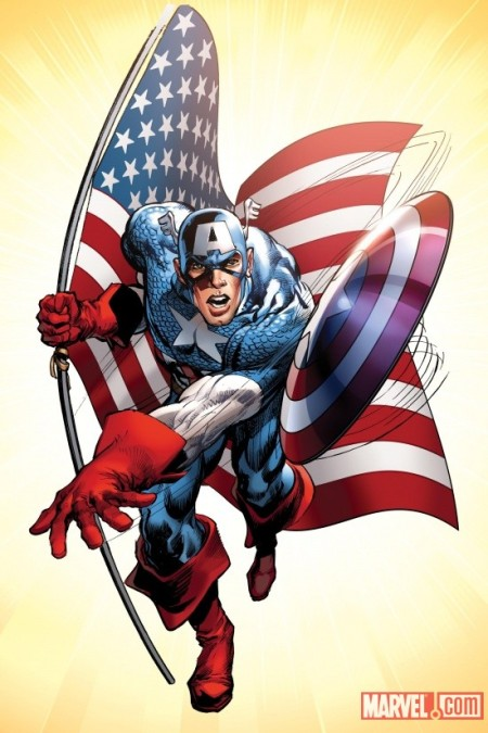 Captain America #1 Cover Adams Variant