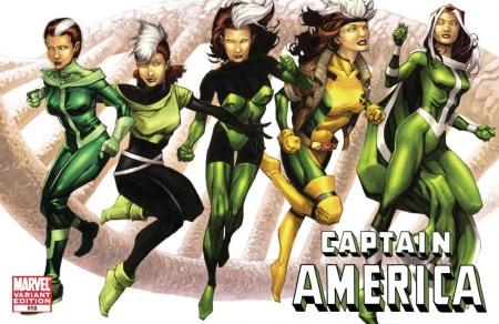 Captain America #618 X-MEN EVOLUTIONS Cover