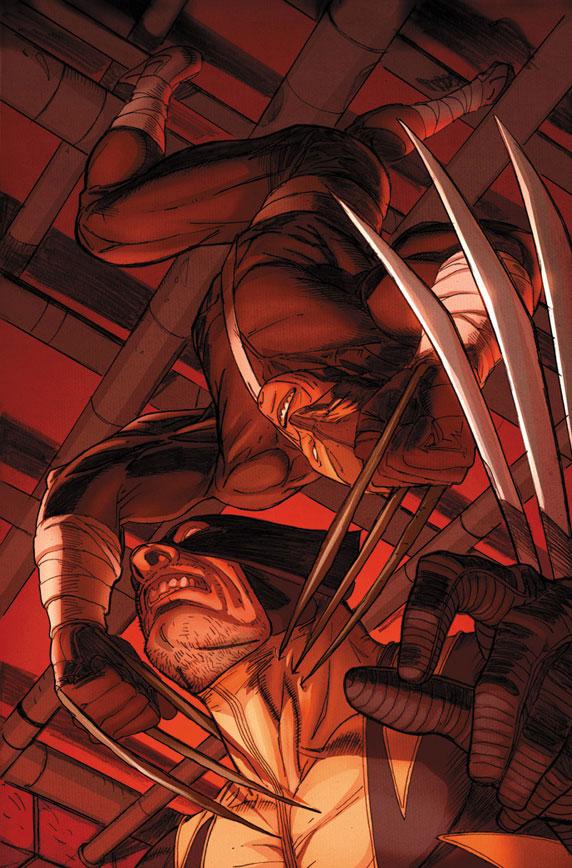 Daken Marvel Claws Point one claws through daken : dark wolverine #9.1 ... X 23 Daken