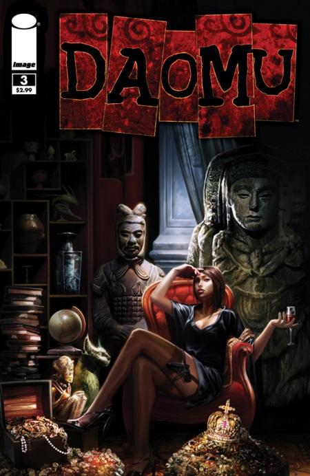 Daomu #3 cover