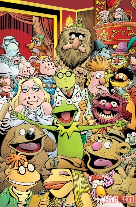 Disney•Muppets Presents Cover NOT FINAL IMAGE