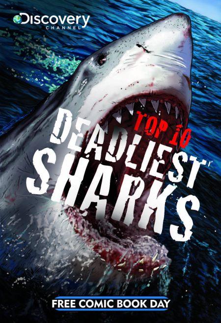 FCBD- Discovery Top 10 Sharks