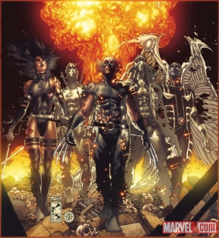 Fear Itself: Uncanny X-Force #1 Cover