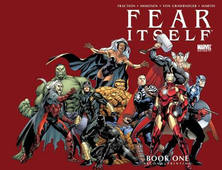 FEAR ITSELF #1 Second Printing