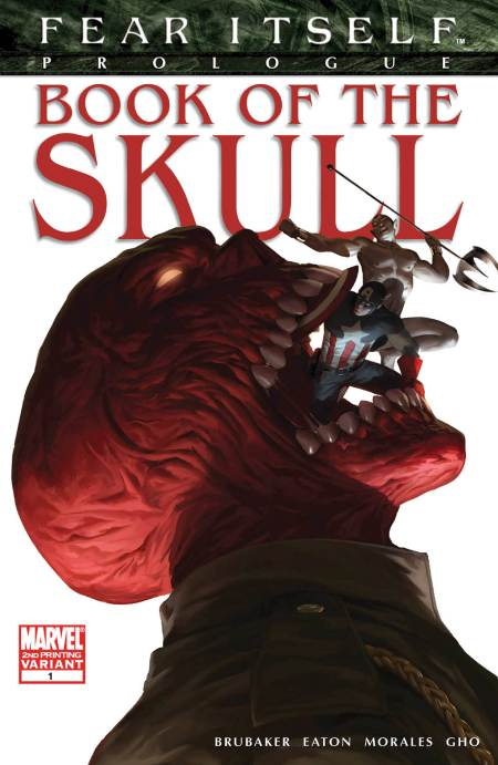 FEAR ITSELF: BOOK OF THE SKULL #1 Second Printing