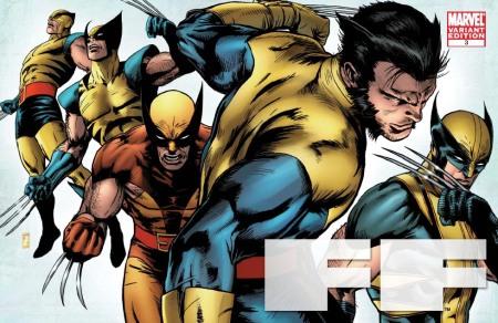 FF #3 X-MEN EVOLUTIONS Cover