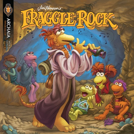 Fraggle Rock v2 003 Cover B