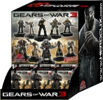 Gears of War Heroclix Display