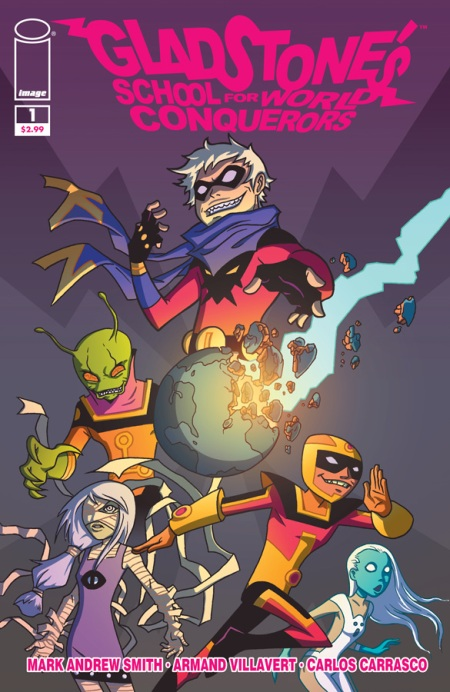 Gladstones School of World Conquerors #1 cover