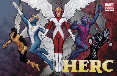 Herc #3 X-MEN EVOLUTIONS Cover
