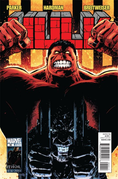 Hulk #33 Cover
