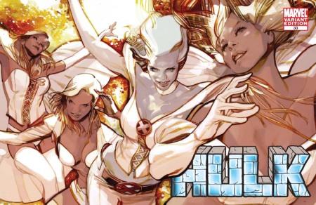 Hulk #33 X-MEN EVOLUTIONS Cover