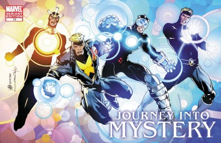 Journey Into Mystery #623 X-MEN EVOLUTIONS Cover