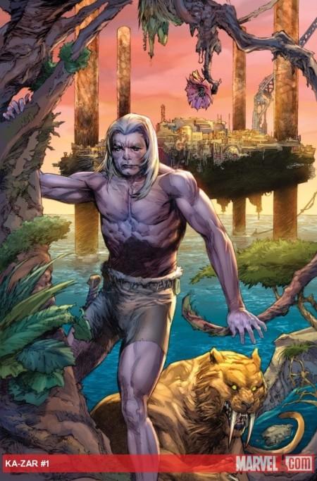 Ka-Zar #1 COVER