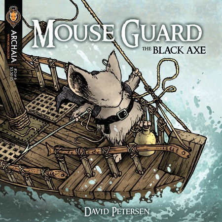 Mouse Guard: The Black Axe #2 Cover