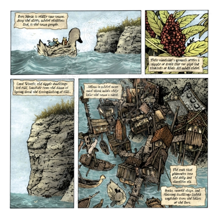 Mouse Guard: The Black Axe #2 Preview_PG1