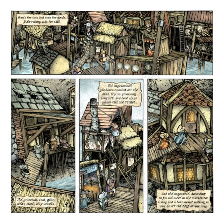 Mouse Guard: The Black Axe #2 Preview_PG2