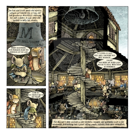 Mouse Guard: The Black Axe #2 Preview_PG3