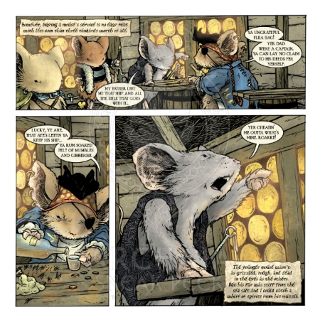 Mouse Guard: The Black Axe #2 Preview_PG4