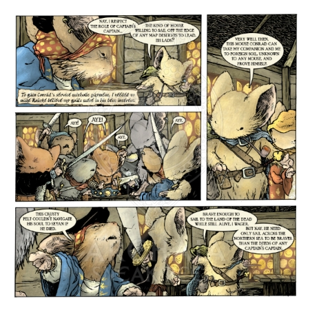 Mouse Guard: The Black Axe #2 Preview_PG6
