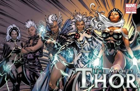 Mighty Thor #2 X-MEN EVOLUTIONS Cover