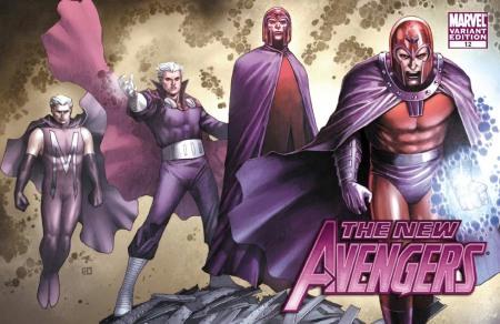 New Avengers #12 X-MEN EVOLUTIONS Cover